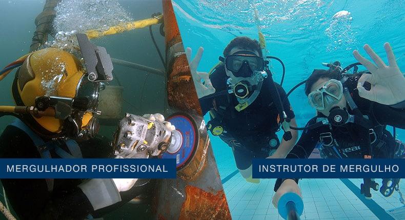 Mergulhador Profissional ou Instrutor de Mergulho?