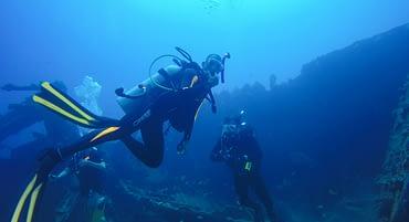 Especialização de mergulho: dicas para o seu mergulho em naufrágio!