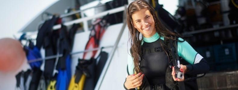 mercado de trabalho para instrutor de mergulho