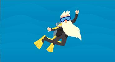 Existe idade certa para se tornar instrutor de mergulho?