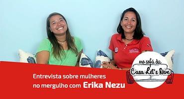 Entrevista sobre Mulheres no Mergulho – Erika Nezu