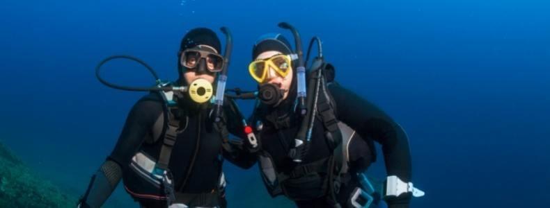 seja um instrutor de mergulho