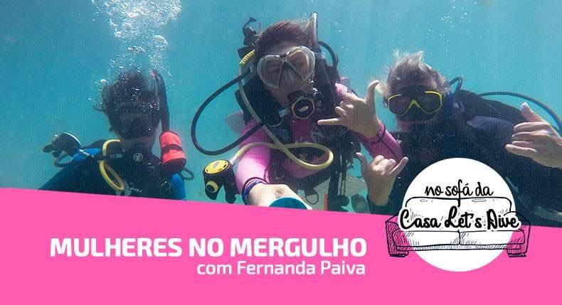 [Vídeo] Mulheres na carreira de mergulho