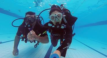 Como trabalhar com mergulho?
