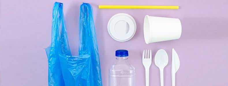 Consumo de plástico descartável
