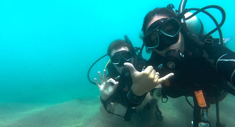 Como explicar para os seus pais que você quer ser um Instrutor de Mergulho?