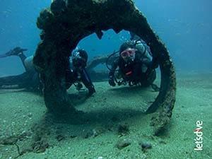 Mergulho em naufrágio