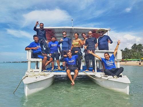 Catamarã Let's Dive