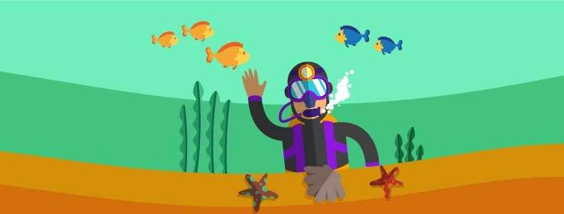 O que é um instrutor de mergulho