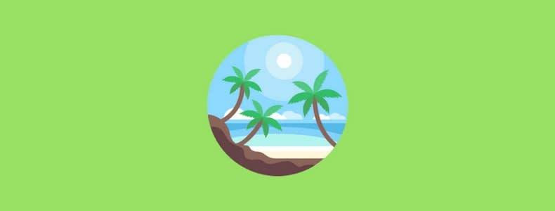 Morar na praia